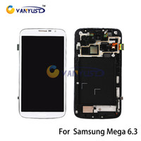 Cheap LCD Display Touch Digitizer Complete Screen Panels Full Assembly Replacement For Samsung Galaxy Mega 6.3 i9200 i9205