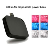 bank conversion - Disposable power bank For Android iPhone mobile cell phone mah mah conversion one time ultra slim card portable battery charger
