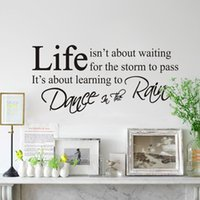 beautiful poetry - Beautiful Design DIY Removable Art Vinyl Love Poetry Quote Wall Decals Decal Home Room Decor Sticker cmx43cm
