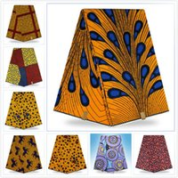 Wholesale Good Price Fabric Guaranteed dutch wax african super wax hollandais new designer african fabric M16011815