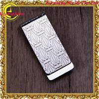 dollar item - 316l Steel Wallet elegant classic Multi standard Metal Money Clip Wallet Dollar Fashion Items Accessories Gift Box Gift For Man
