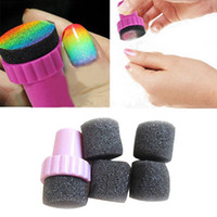 Wholesale 2016 Brand New Nail Art Design Stamping Changeable Sponge Shade Transfer DIY Set