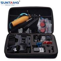 Wholesale Suntaiho S M L Size GoPro Camera Bag for Gopro Hero SJ4000 SJ5000 xiaomi YI Action Camera Accessories