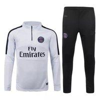 best train sets - Best quality Paris Saint Germain training Football Sportswear Set