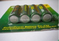 Cheap 4 Pcs lot NiZn Ni-Zn 1.6V AA 2500mWh mAh Rechargeable Battery Much Powerful and stronger than Ni-MH Ni-Cd