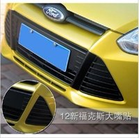 Wholesale Car modification carbon fiber stickers decoration accessories film for headlights for ford focus N