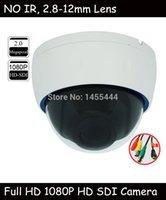 auto iris varifocal lens - High Resolution P HD SDI Indoor Plastic Dome Camera with mm Auto Iris Varifocal Lens CCTV Camera Support RS485