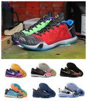 Wholesale Men s Kobe KOBE X EP Low Basketball Shoes Cheap Mens Sports Shoes Cheap Shoes kb10 Leather Mens Basketball Shoes Eur