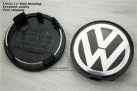 Wholesale Brand New x mm VW Volkswagen Car Wheel center Hub Caps Rims Cap Emblem For Volkswagen Golf Passat D0601165 M7601165