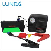 Wholesale Super Function Mobile Auto emergency power Power Bank Car power jump starter Air pump Safety Hammer usb