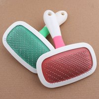 beauty products manufacturers - Manufacturer pet comb large degree rotating pin comb double layer with protective head beauty comb160801