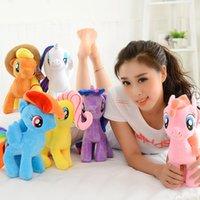 bao toys - Genuine pony bao li rainbow pony horse doll my little pony new plush toy doll