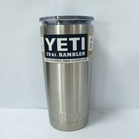 beer band - 304 Stainless Steel oz oz Yeti Cups Cooler YETI Rambler Tumbler Cup Vehicle Beer Mug Double Wall Bilayer Vacuum Insulated ml hot