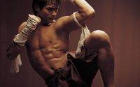 bak design - movie thailand actors tony jaa celebrity muay thai ong bak x36 inch art silk poster Wall Decor