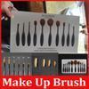 Wholesale hot New Professional Soft Oval Toothbrush Makeup Brush Sets Foundation Brushes Cream Contour Powder Blush Lip Concealer Brush DHL