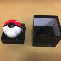 ar packages - Hot sale Poke Go power bank mAh for Poke AR game pokeball powerbank chargers with LED for Apple Samsung with Retail Package