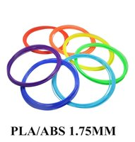 Wholesale 2016 m D Printer Filament ABS PLA mm Plastic Rubber Consumables Material for D Printer D Pen Reprap Makerbot High quality