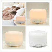 Wholesale Hot Ultrasonic aromatherapy machine aroma diffuser bedroom home Ultrasonic humidifier Air purifier light humidifier for home and office