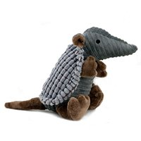 armadillo toy - Dog toy Pet Dog Plush Squeaking Toy Training Squeaky Toys Armadillo