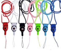 Wholesale Hot Cell Phone Mobile Neck Chain Straps Camera Straps Key Keychain Charm DIY Hang Rope Lariat Lanyard MP5 U flash disk