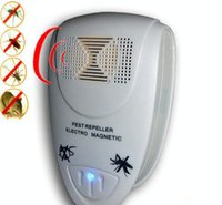 Wholesale Electronic Ultrasonic Rat Mouse Repellent Anti Mosquito Repeller killer Rodent Pest Bug Reject Mole mice AY083 SZ