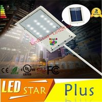 Wholesale 15 LED Solar Powered Panel LED Street Light Solar Sensor Lighting Outdoor Path Wall Emergency Lamp Security Spot Light Luminaria FREE SHIP
