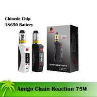 battery reaction - Newest Quality Chain Reaction w E cigarette Kits Chinese Chip Mod battery mAh Variable wattage W W Temperature control mod