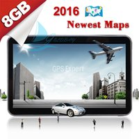 Wholesale TOM quot GB Car GPS Navigation System Navigator SATNAV TOM FM POI Free UK EU Maps