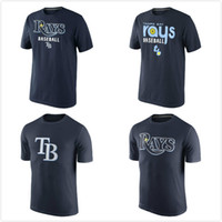 bay clothes - Tampa Bay Rays Home Practice Team Logo mens short sleeve sports T Shirt Men s Clothing TShirt Size S XL