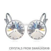 Wholesale Must have stone colors crystal drop earrings Made with SWAROVSKI ELEMENTS