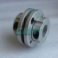 Wholesale New Frame Model Aluminum alloys Single Diaphragm coupling Fit servo and stepper motor shaft coupler D L D1 D2 at mm