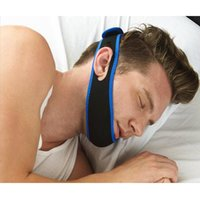 Wholesale Anti Snore Chin Strap Care Sleep Stop Snoring Belt Chin Jaw Supporter Apnea Belt For Men Women Sleeping Products
