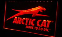 arctic snowmobile - LS166 r Arctic Cat Snowmobiles Neon Light Sign