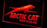 arctic cat snowmobile - LS166 r Arctic Cat Snowmobiles Neon Light Sign