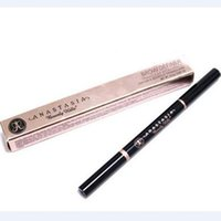Wholesale 2016 Makeup Ana Brow DEFINER Makeup Skinny Brow Pencil gold DOuble ended with eyebrow brush g Color DHL Free MR021