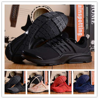 Wholesale With Box AIR PRESTO BR QS Breathe Black White Mens Basketball Shoes Sneakers Women Running Shoes For Men Sports Shoe Walking designer shoes