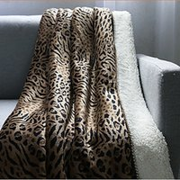 best sheet fabric - 2016 Rushed Real Polyester Home All cm Printed Hand Wash Best Selling Ferrets Thick Down Blankets Senior Flannel Sheets Blanket
