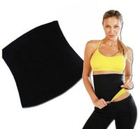 Wholesale 100Pcs Hot Woman Tummy Trimmer Slimming Belt Waist Trimmer Fitness Belt Fat Burning Fitness Corset Body Shaper