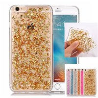 Wholesale Korea Wholesalers Phones - Korea Style Iphone 7 Plus Bling Glitter Phone Case For Goophone I7 I6 I5 Samsung S7 S6