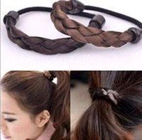 Wholesale Top qualtiy New Arrival Hot Selling Cheap Haircombs Elastic Hair Bands Korean Wig Braid Hair Bands