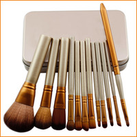 Wholesale Professional Cosmetic Facial Make up Brush Tools Makeup Brushes Set Kit With Retail Box