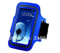 arm cover ups - High Quality Sports Armband Arm Strap Cover Case Holder for Samsung Galaxy S5 i9600 UPS DHL EMS CPAM HKPAM