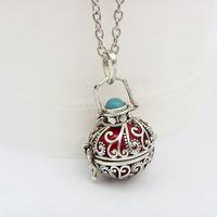 bali necklace silver - Bali silver Musical sound pregnancy ball pendant Maternity Women Prengancy bola pendant Necklace