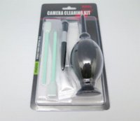 Wholesale Camera cleaning kit in cleaning kit Lens filter cleaning kit with silicon air blower CCD swab Cleaning cloth lens pen