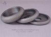 Wholesale 3 quot mm Vacuum Brazed Diamond CONVEX Wheel Stone Edging Wheel For Stone Artificial Stone Ceremics Glass Concrete etc