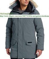 Wholesale Brand Parkas Discount Hoodies Real Fur Coats new winter men warm thicken CANADA outwear men s Parkas