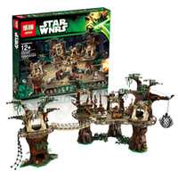 Wholesale Lepin Star Wars Ewok Village Building Blocks Juguete para Construir Bricks Christmas Toy