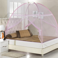 Wholesale Fashion Bedding Set Can Be Loaded From Installation Seconds Instant Magic Automatic Ger Lazy Bed Nets Drop Shipping