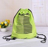 Wholesale NEW Gym Swim School Dance Sport Drawstring Bag Duffel Shoulder Backpack Rope Portable String Bag Creative Drawstring Backpack Shopping Bags