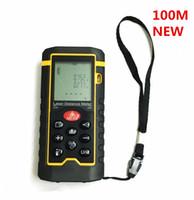 angle finder tools - Handheld Laser rangefinder Laser Distance Meter Digital Laser Range Finder Laser Tape Measure M Area volume Angle Tester tool